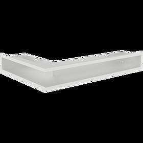 Kratka luft narożny lewy biały 9x40x60