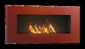 biokominek Hitze Ambient RED