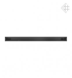 Kratka wentylacyjna luft 60x1000 mm - kolor czarny MIRO