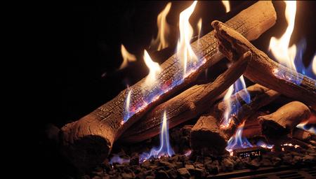 Kominek gazowy Ortal Wilderness-palnik Firelog