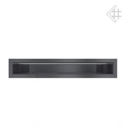 Kratka wentylacyjna luft 60x600 mm - kolor grafitowy