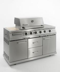 Landmann - Kuchnia gazowa 12,8 + 4,4 kW - 12752
