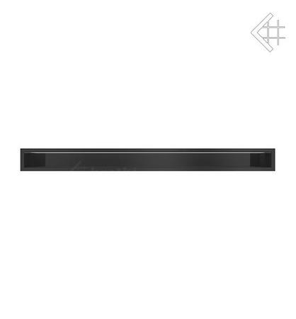Kratka wentylacyjna luft 90x1000 mm - kolor czarny MIRO LES FOYERS, KOMINKI KRAKÓW, KRATKI KOMINKOWE KRAKÓW