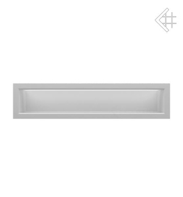 Kratka wentylacyjna luft 90x400 mm - kolor biały MIRO LES FOYERS, KOMINKI KRAKÓW, KRATKI KOMINKOWE KRAKÓW