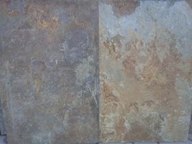 ŁUPEK KWARCOWY HS 015 RUST 60x40cm  miro les foyers, kamień kraków, łupek kamienny miro les foyers